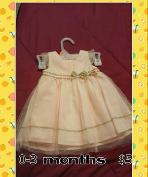 Baby dress 0-3 months $5 for Sale in West Palm Beach, FL