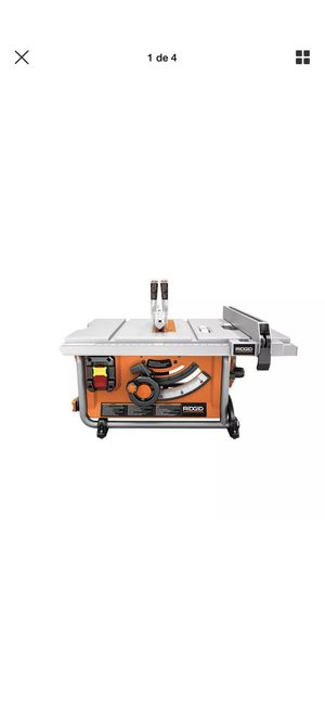 table saw ridgid for Sale in College Park, MD