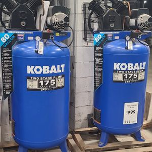 🛑LIQUIDATION TODAY🛑$$$700$$$ Kobalt80-Gallon Two Stage Electric Vertical Air Compressor $$$700$$$ for Sale in Los Angeles, CA