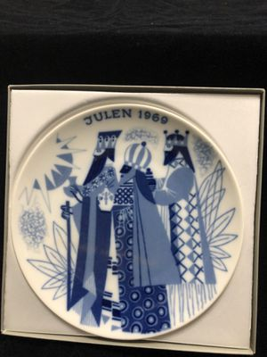 Porsgrun Norway 1969 Christmas Plate for Sale in Tyler, TX