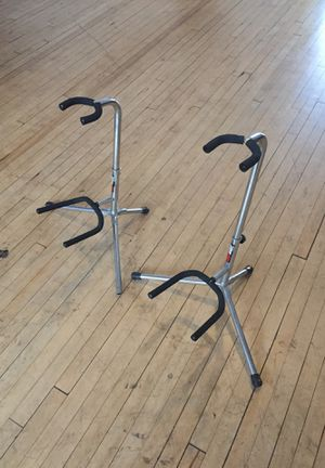 Two Fret rest guitar stands for Sale in Detroit, MI