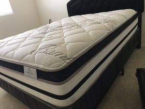 """🎋QUEEN SIZE PILLOW TOP MATTRESS 12"""" INCHES THICK BAMBOO BRAND ALL NEW🎋 for Sale in Upland, CA"""