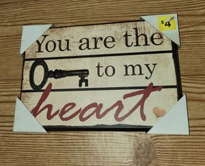 Key to my Heart - Wall Decor for Sale in Columbia, MD