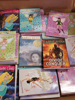 Box of scholastic books for Sale in Sacramento, CA