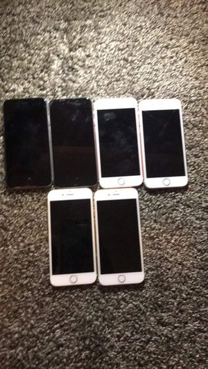 6 iPhones (6s) for Sale in Chicago, IL