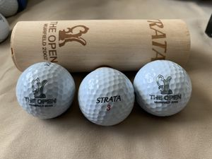 2002 Open Championship(British Open) at Muirfield Strata golf balls for Sale in Los Angeles, CA
