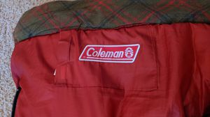 Coleman sleeping bag with bad zipper for Sale in Irvine, CA