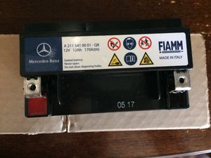 Mercedes SECONDARY Battery for Sale in Redwood City, CA