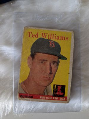 TED WILLIAMS #1 BASEBALL CARD for Sale in Washington, DC