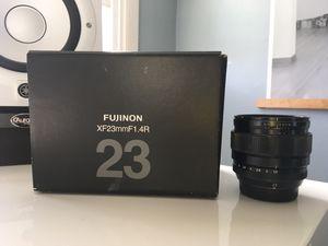 Fujinon 23mm XF F1.4 R Lens for Fujifilm Digital Camera for Sale in San Diego, CA