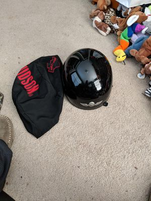 Harley-Davidson helmet with cover for Sale in Moneta, VA
