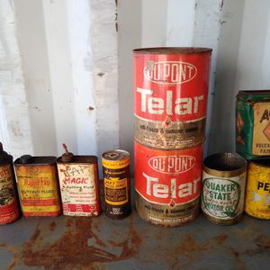 Vintage Cans for Sale in West Chicago, IL