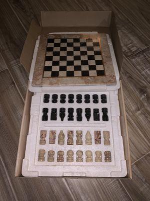 Handmade Ceramic Chess Board Game for Sale in Ashburn, VA