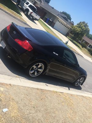 G35 COUPE PART OUT (TRADES ONLY) AND LOOKING FOR PARTS for Sale in Fontana, CA