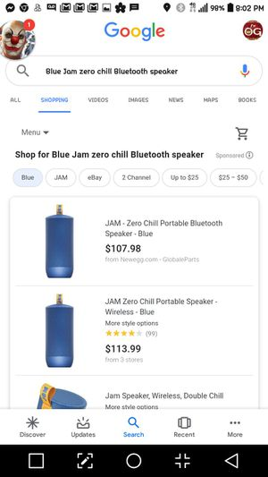 Jam Zero Chill Waterproof speaker for Sale in Tacoma, WA