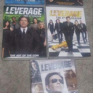 Leverage The Complete Season DVD for Sale in Atwater, CA