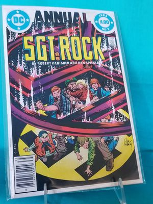 DC Comics Sgt Rock Annual #3 for Sale in Rancho Cucamonga, CA