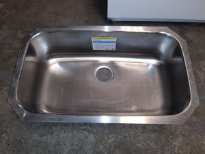 New Moen Stainless Steel Kitchen Sink for Sale in Coventry, RI