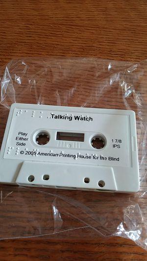 Talking watch tape for blind for Sale in Arlington, VA