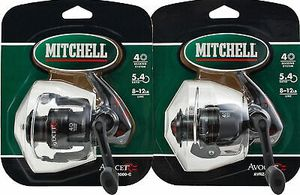 2 Mitchell Avocet AVRZ-3000c 5:4.1 Spinning fishing reel for Sale in Litchfield Park, AZ