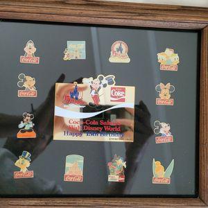 Walt Disney World 15th Anniversary Coca-Cola pin set for Sale in Canton, GA