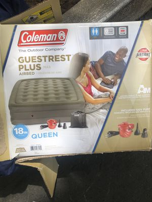 Coleman air mattress for Sale in Vallejo, CA