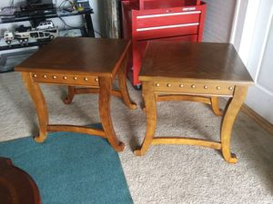 Two small tables $25 each for Sale in Greenville, NC