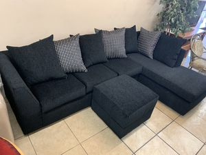 Sectional with Ottoman Brand New ! for Sale in Phoenix, AZ