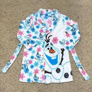 "Disney Frozen ""Olaf"" Soft Cozy Robe Size 7/8 (Brand New) for Sale in Austin, TX"