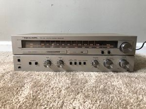 Realistic AM FM Analog Home Stereo Radio Tuner Receiver Amplifier for Sale in Mount Prospect, IL
