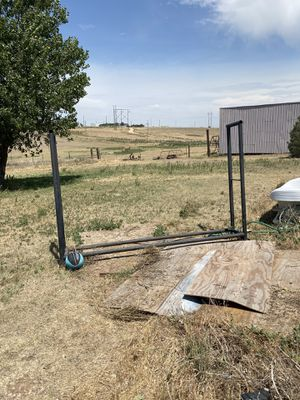 10x6. HEAVY DUTY firewood rack for for Sale in Amarillo, TX