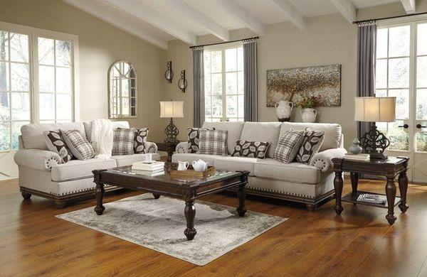 Harleson Wheat Living Room Set