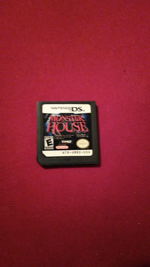 Nintendo ds Monster house game for Sale in Winter Haven, FL