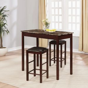 """New Dinning Set, (box has not been open) 3pc counter 2 stools, 36""""Hx42""""Wx22""""D for Sale in Dallas, TX"""