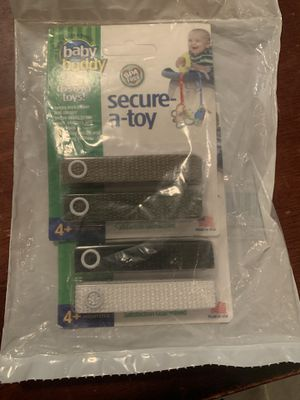 Baby Buddy Secure-A-Toy - Straps Toys for Sale in Spokane, WA