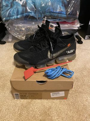 Nike X Offwhite Vapormax size 10.5 used for Sale in Fort Worth, TX