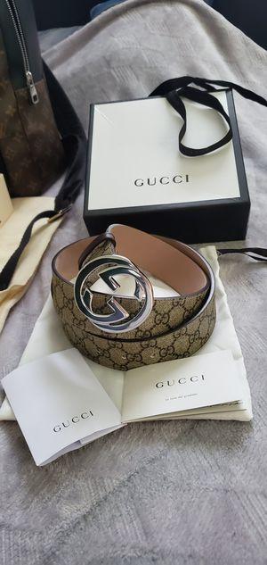 """Gucci """"GG Supreme"""" Belt (size 90cm) for Sale in Marietta, GA"""