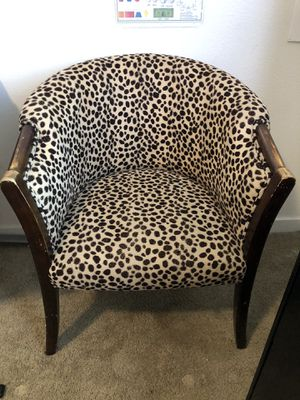 Cheetah chair for Sale in Irvine, CA