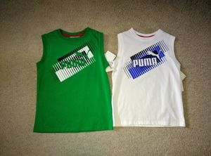 Brand New with Tag Puma Muscle Shirts size 6 & 7 for Sale in Aldie, VA