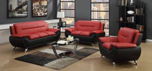 Red living room sofa set for Sale in Plymouth, PA
