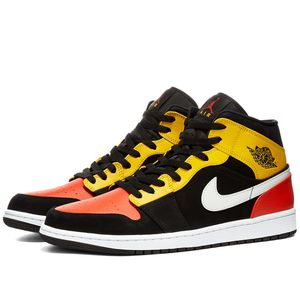Air Jordan 1 Mid 'Amarillo Orange' US Men's 14 for Sale in Center Moriches, NY