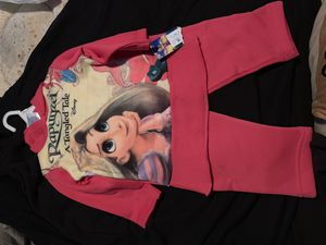 Disney Rapunzel cotton pants and sweatshirt with hoodie for Sale in Chicago, IL