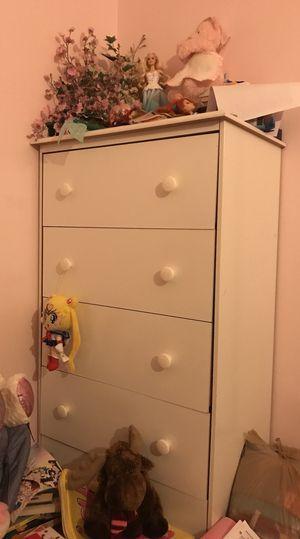 Kids white dresser for Sale in Burke, VA