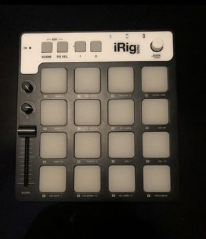 $65 iRig Drum Pad / Connects to your iPhone, iPad, and any IOS device! for Sale in Atlanta, GA