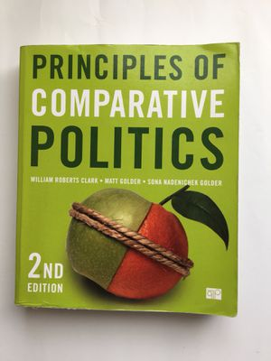 Principles of Comparative Politics for Sale in Tempe, AZ