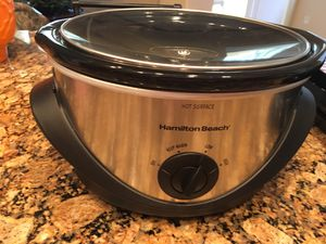 Hamilton Beach Crock pot used only once for Sale in Manteca, CA