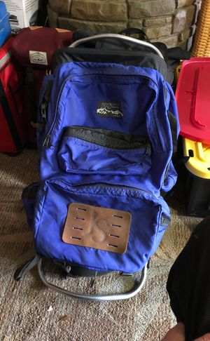 Jansport backpacking back pack with aluminum frame for Sale in Palo Alto, CA