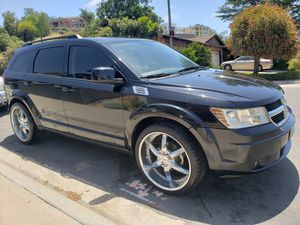 """2010 Dodge Journey SUV, clean title, registered, smogged, 3rd row seat, 22""""rims, low miles, reliable transportation for Sale in Spring Valley, CA"""