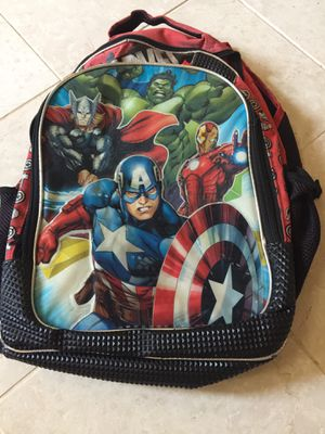 Backpack captain America for Sale in Silverado, CA