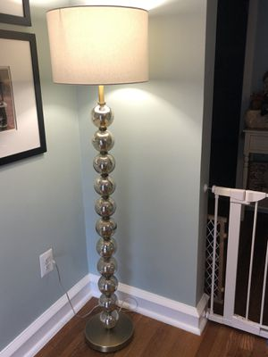 Floor lamp/ lamp shade for Sale in Ridley Park, PA